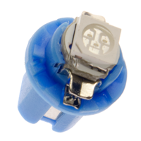 B8,5d Intrumenten verlichting LED - high power - BLAUW