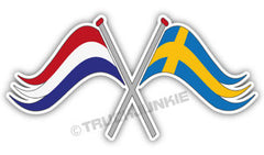 NL-SE VLAG - FULL PRINT - STICKER