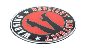 REDLIGHT DISTRICT - 3D DELUXE FULL PRINT STICKER