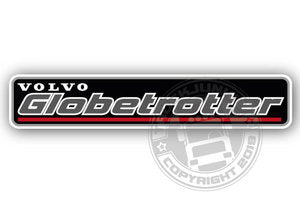 GLOBETROTTER - FULL PRINT STICKER