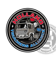 HOLLAND TRUCKERS ALLIANCE - FULL PRINT STICKER