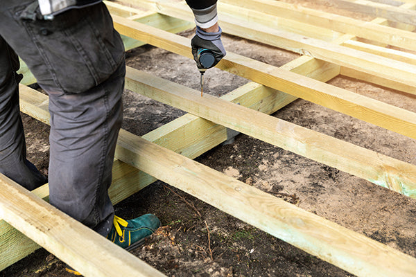 How to Build a Base for your Decking