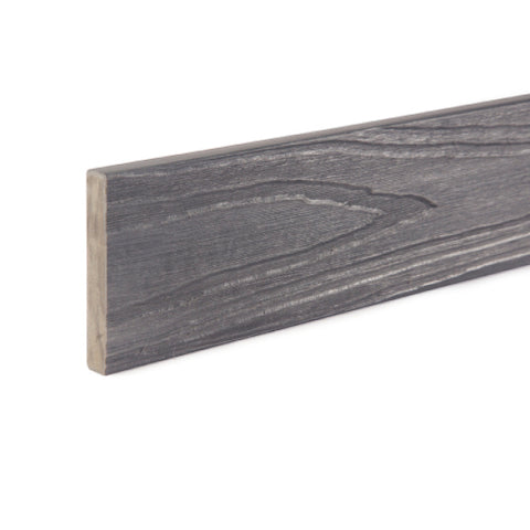 Premium Wood Grain Composite Decking Trim 3.6m - Slate Grey