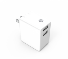 Load image into Gallery viewer, 3.4 AMP DUAL PORT USB WALL CHARGER