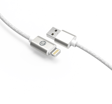 Load image into Gallery viewer, 10' BRAIDED APPLE LIGHTNING CHARGE/SYNC CABLE