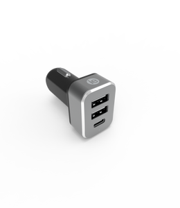 3 Port USB A & Type C Charger