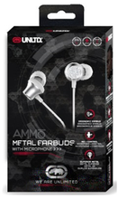"Load image into Gallery viewer, ECKO UNLTD. ""AMMO"" EARBUDS"