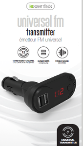 BLUETOOTH ENABLED FM TRANSMITTER
