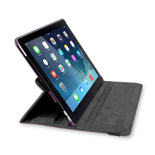 Load image into Gallery viewer, iEssentials iPad 2 Swivel Folio Case with Stylus