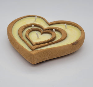 Valentine's Heart Candle
