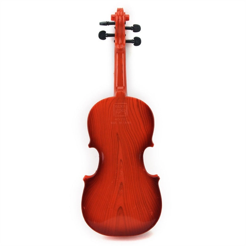 4 Strings Simulation Violin Mini Violin Kids Musical Instruments Educational Toy (Random Color)