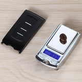 Super Mini Pocket Jewelry Cract Scale 200g/100g*0.01g Car Key Digital Scales Weight Balance Gram Scale Car Key Scales