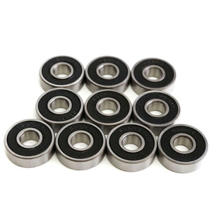 50PCS 608RS Bearing 8*22*7 mm ABEC-5 Skateboard Scooter 608 2RS Ball Bearing Miniature Skate Roller Ball Bearings Kit