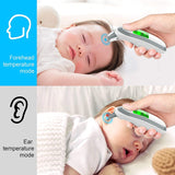 Ear and Forehead Thermometer Digital Medical Infrared Thermometer For Baby Children and Adults Fahrenheit and Celsius Converti