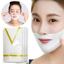 Load image into Gallery viewer, Tool Tension Slimming Firming 4D Lifting Burn Firming Fat Face V-Shape Double  V-line Mask