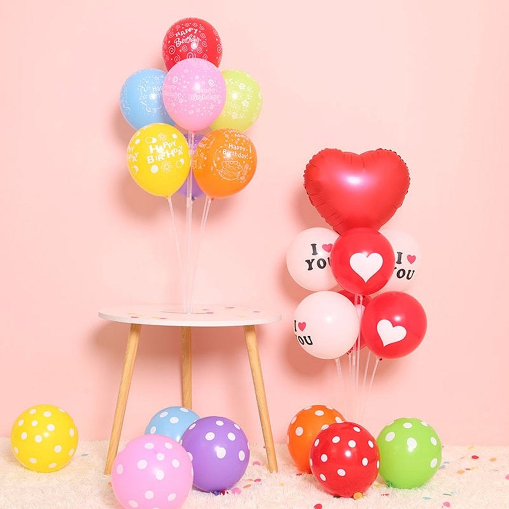Splicing Models Balloon Table Floating Column Wedding Decoration Wedding Banquet Table Setting Float Stand Base Set