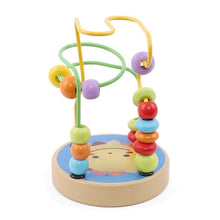 Load image into Gallery viewer, Wooden Bead Exercise Child Hand Eye Coordination Animal Cognitive Educational Toy