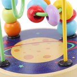 Wooden Bead Exercise Child Hand Eye Coordination Animal Cognitive Educational Toy