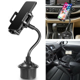 360 ¡ã Rotation Car Phone Mount Car Phone Holder with Suction Cup Car Phone Support Adjustable Gooseneck Cup Car Phone Stand Holder