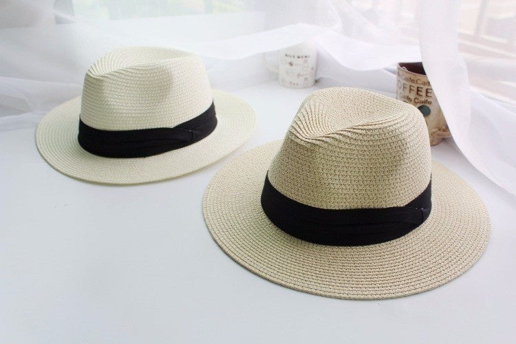Summer Floppy Straw Beach Sun Hats For Women,Beach Headwear,Wide Brim Panama Hat,chapeau femme paille ete,chapeu feminino