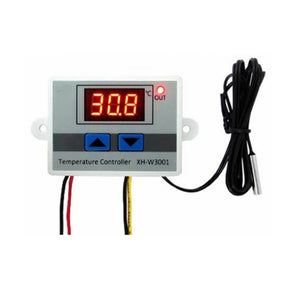 Great quality ! 220V 10A Digital LED Temperature Controller Thermostat Control w/ Switch +Probe