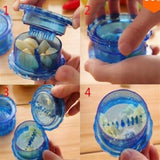 Brand New Practical Kitchen Small Tool Transparent Color Twist Garlic Stirring Garlic Box Pressure Garlic Creative Life Supplies