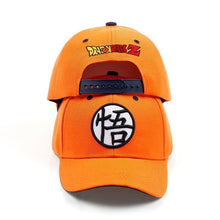 Load image into Gallery viewer, Fashion Hoge Kwaliteit Katoen Dragon Ball Z Goku Baseball Caps hoeden Mannen Vrouwen Anime Dragonball Verstelbare HipHop Snapback Cap Hoed