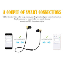 Load image into Gallery viewer, Bluetooth 4.2 Earphone Magnetic Wireless Headphones Sport Stereo Headset Earbuds AL