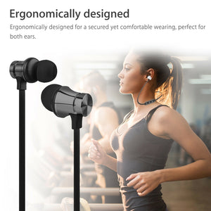 Bluetooth 4.2 Earphone Magnetic Wireless Headphones Sport Stereo Headset Earbuds AL