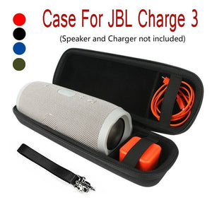 Portable Speaker Storage Bag Hard Carry Bag Box Protective Cover Case For JBL Charge 3 Bluetooth Speaker Pouch Case (Speaker and Charger not included )
