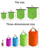 5L / 10L / 20L / 40L / 70L waterproof bag swimming bag drifting kayaking river trekking sailing floating kayak rowing