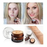 It Cosmetics BYE BYE Under Redness Face Concealer Cream Make Up Base Long Lasting Makeup Face Makeup Foundation Correcting
