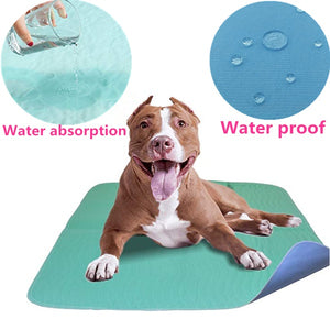 Reusable Dog Pee Pads - Waterproof and Washable for Your Pet Training Housebreaking