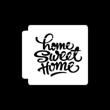 Load image into Gallery viewer, Sweet Home Stencil Template - Reusable Stencil for Baking/Journal/Scrapbooking / Pigment/Ink Pad/Spray/Hand Painting/Cloth//Wall /Furniture