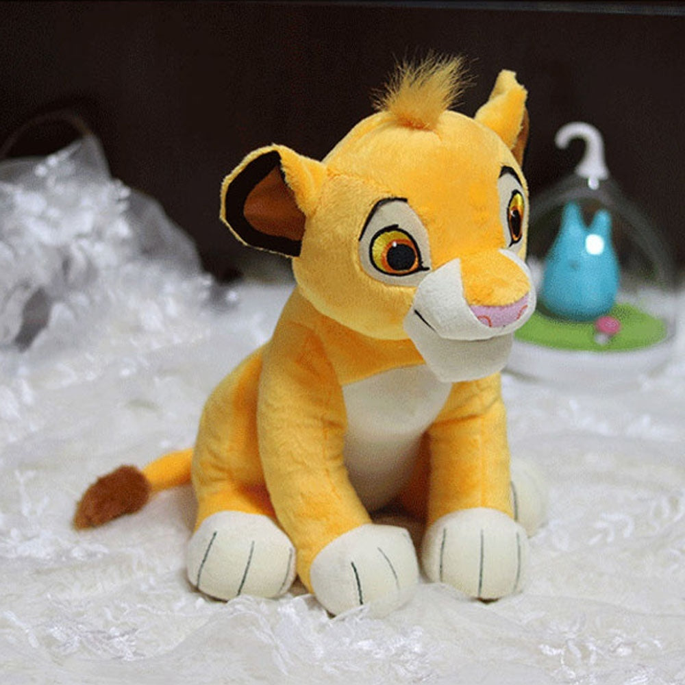 Good Quality Cute Sitting Simba The Lion King Plush Doll Sleep Toys Simba Soft Stuffed Animals Doll for Children Birthday Gift