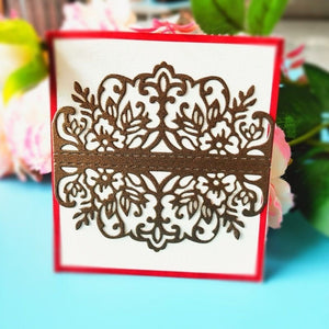 Wedding Invitation Cutting Die Scrapbooking Craft Metal Die Cut for DIY Paper Cards Making Love Home Decorative 2019 diy arts