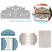 Load image into Gallery viewer, Wedding Invitation Cutting Die Scrapbooking Craft Metal Die Cut for DIY Paper Cards Making Love Home Decorative 2019 diy arts