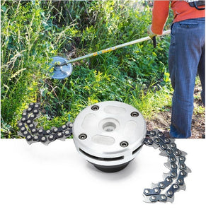 Promotion HOT 1 Pair Coil 65Mn Chain Brushcutter Garden Grass For Lawn Mower Trimmer Head