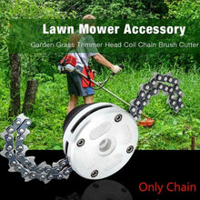 Load image into Gallery viewer, Promotion HOT 1 Pair Coil 65Mn Chain Brushcutter Garden Grass For Lawn Mower Trimmer Head