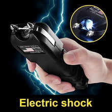 Load image into Gallery viewer, NEW Stun gun with LED Flashlight For women and men Self-Defense Defend Yourself Rechargeable Electric Tazer Flashlight