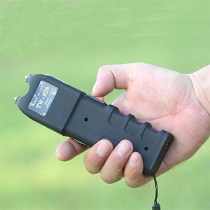 NEW Stun gun with LED Flashlight For women and men Self-Defense Defend Yourself Rechargeable Electric Tazer Flashlight