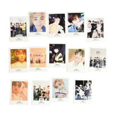 32pcs/Set Kpop BTS Lomo Card BANGTAN BOYS J-HOPE SUGA JIMIN HD Polaroid Photo