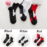 New Anti-sweat Thickened Towel Bottom Breathable Socks Outdoor Running Basketball Sports Socks