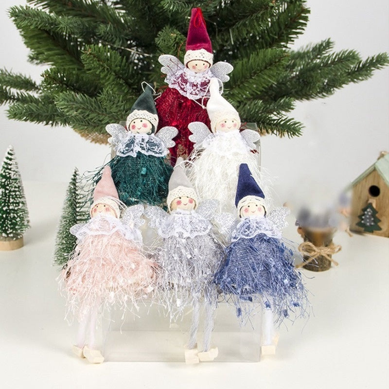 New Christmas Angel Doll Toy Christmas Tree Pendants Ornaments Home Decoration