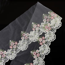 Load image into Gallery viewer, 2yds Lace Fabric Beautiful Flower Venise Lace Trim Sewing Craft Embroidered Lace For Sewing Decoration