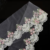 2yds Lace Fabric Beautiful Flower Venise Lace Trim Sewing Craft Embroidered Lace For Sewing Decoration