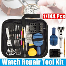 Load image into Gallery viewer, 144/1Pcs Watch Case Holder Opener Pin Link Remover Spring Bar Repair Tool Kit