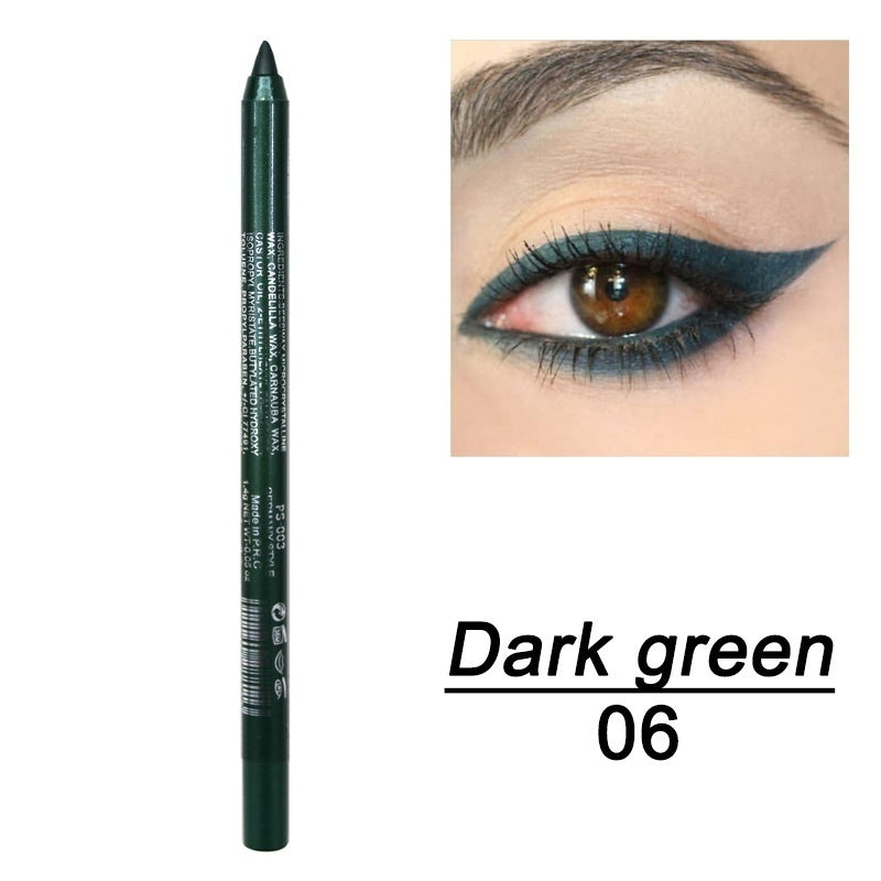 1Pcs Fashion Makeup Eye Cosmetics Colourful Pigment Long Lasting Waterproof Eyeliner Pencil