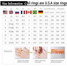Load image into Gallery viewer, Her King His Queen Couple Wedding Band Ring Stainless Steel Cubic Zirconia Stone Anniversary Engagement Promise Ring for Women Men