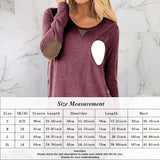 New Pregnant Women Fashion Long Sleeve Nursing Shirt Casual Maternity Breastfeeding Blouse Tops